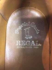 REGAL(リーガル)vibramソールウィングチップ_3