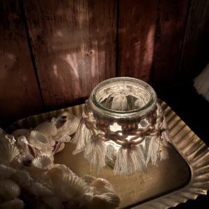 マクラメキャンドルホルダー 選べる香りとカラー ソイキャンドル3個付き_7