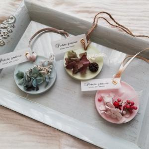 ミニアロマワックスサシェ/紫陽花くすみブルー/香りが選べる_2