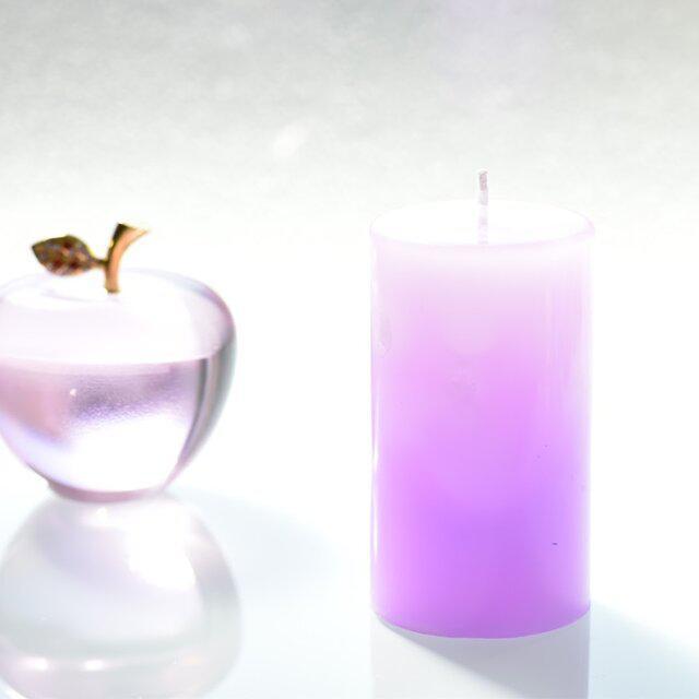 グラデーションキャンドル(Pink&purple)_1