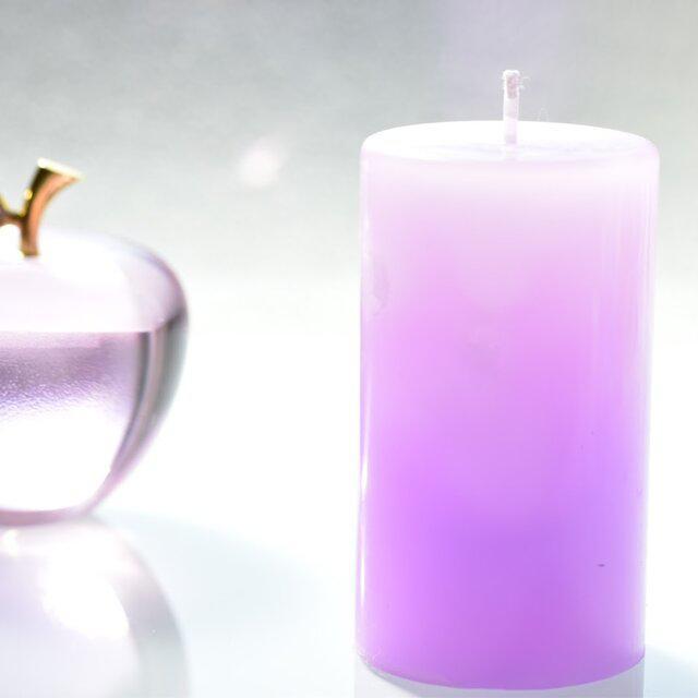 グラデーションキャンドル(Pink&purple)_3