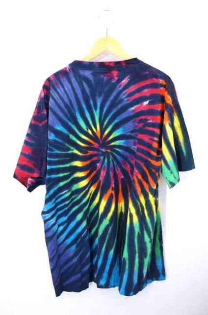 SUNDOGS(サンドッグ)90S USA製 オーバーサイズタイダイTシャツクルーネックTシャツ_2