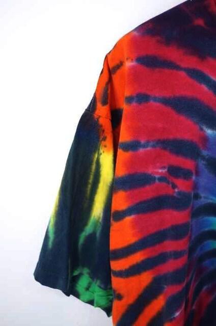 SUNDOGS(サンドッグ)90S USA製 オーバーサイズタイダイTシャツクルーネックTシャツ_5