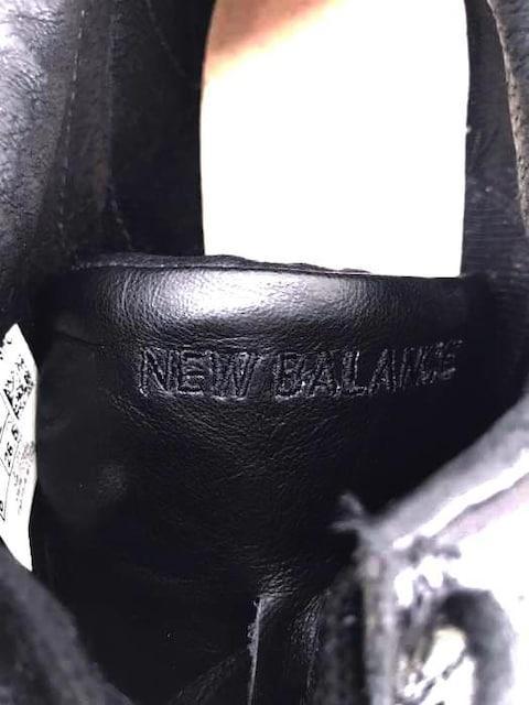 NEW BALANCE(ニューバランス)スウェード切替 スニーカースニーカー_3